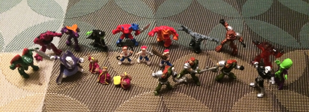 MIGHTY MAX FIGURES (1)