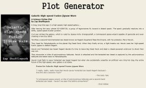 random story gen - sci-fi