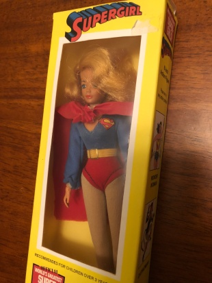 mego lot supergirl