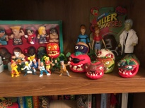 killer tomatoes shelf