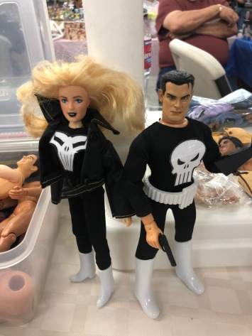 mego punisher and lynn